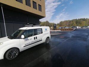 Skomaskiner leverer til Kalnes sykehus
